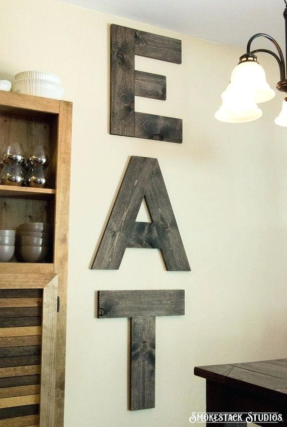 Large Wall Letters Wood - Easy Craft Ide
