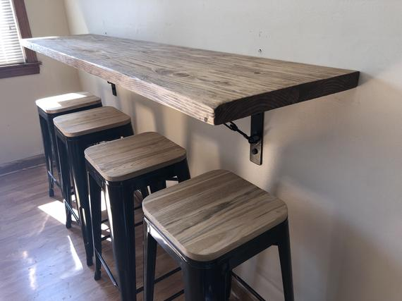 Wall hanging dining table buffet breakfast nook with   Et