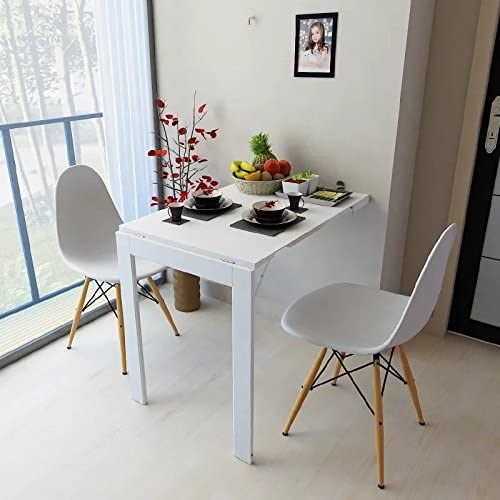 Amazon.com: Isasar Wall Mounted Folding Table Space Saver Fold Out .