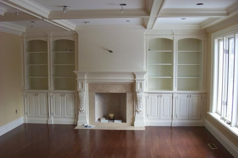 built in fireplace wall units | BUILT-INS, WALL UNITS, FIREPLACES .