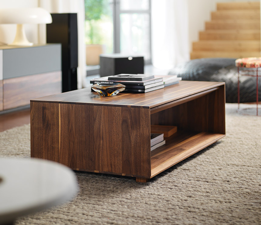 Contemporary Walnut Coffee Table Best — All Contemporary Design .