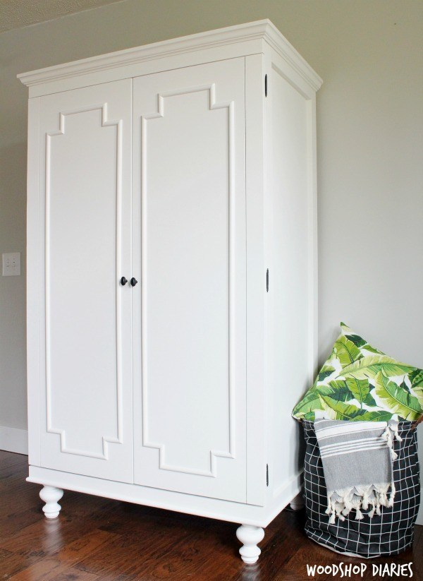 DIY Armoire Wardrobe Cabinet - Spruc*d Mark