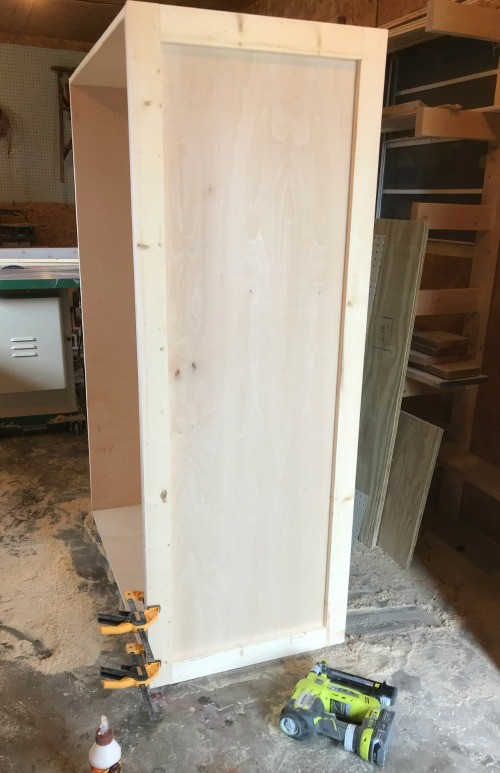 How to Build a DIY Wardrobe Armoire Storage Cabinet with Shelv