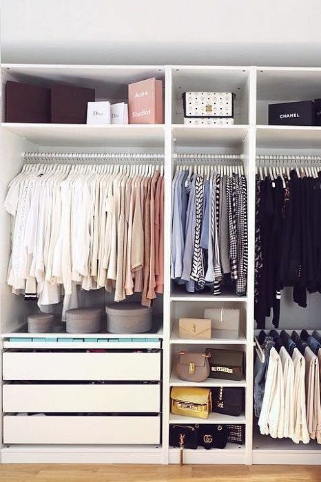 The Best Closet Organization Ideas For Women's | Closet decor .