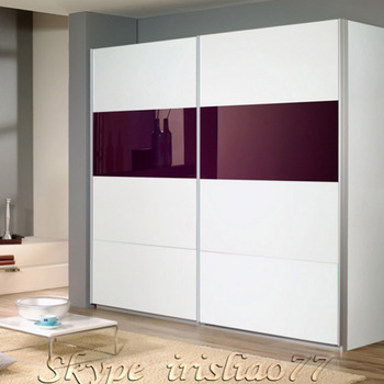 Customized design cheap MDF wardrobe sliding door, View sliding .