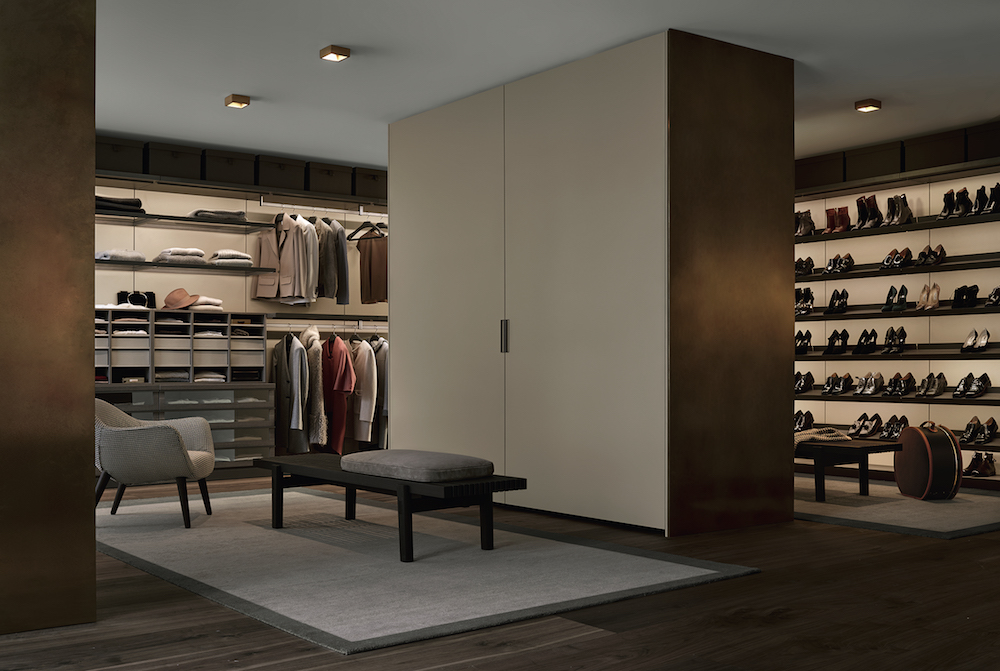 Here are five handsome wardrobe systems for your dream closet .