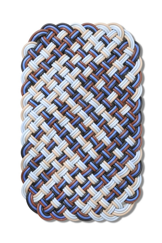 Shore Rug, Basket Weave, Cord, Knot, Texture, Woven, Soft, Comfort .