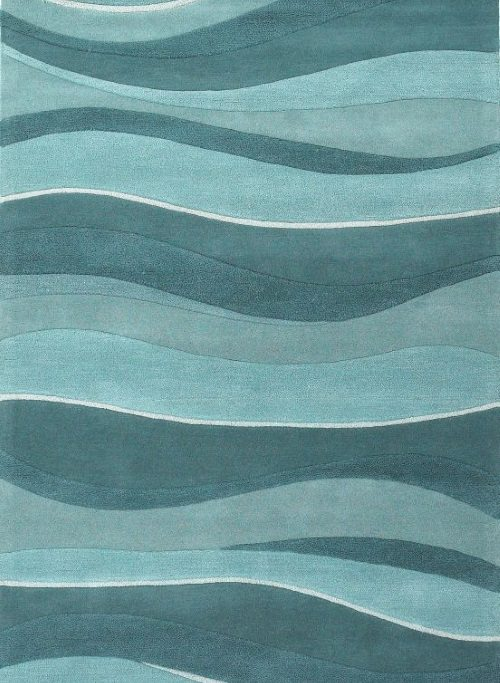 Soothing Wave Rugs - Beach Bliss Livi