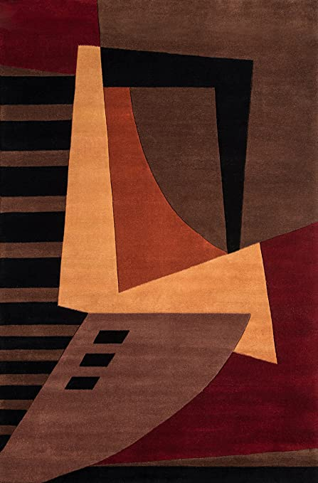 Amazon.com: Momeni Rugs New Wave Collection, 100% Wool Hand Carved .