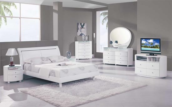 White Bedroom Furniture Ideas For A Modern Bedroom picture 1 .