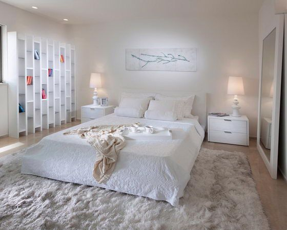 16 Beautiful and Elegant White Bedroom Furniture Ideas | White .