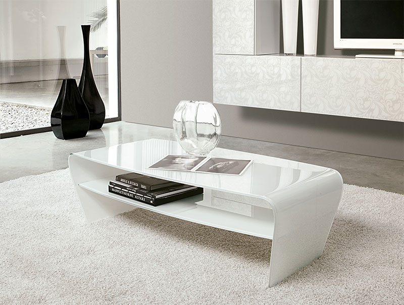 10 Best Collection Of White Modern Coffee Table Simple .