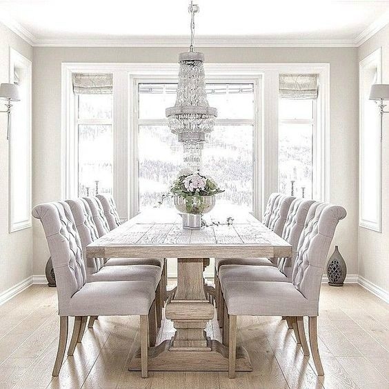 11 Spring Decorating Trends to Look Out | Luxury dining room .