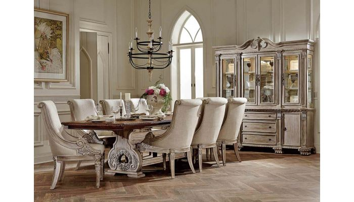 Orleans Antique White Dining Table S