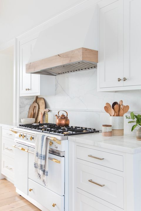 17 White Kitchen Cabinet Ideas - Paint Colors and Hardware for .