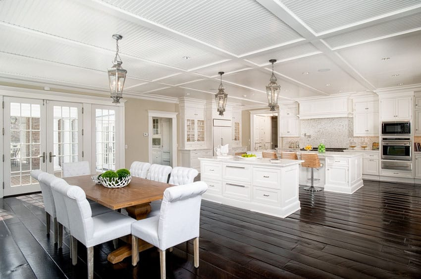45 Luxurious Kitchens with White Cabinets (Ultimate Guide .