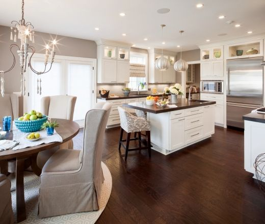 Small Kitchen Table Ideas: Pictures & Tips From | Romantic kitchen .