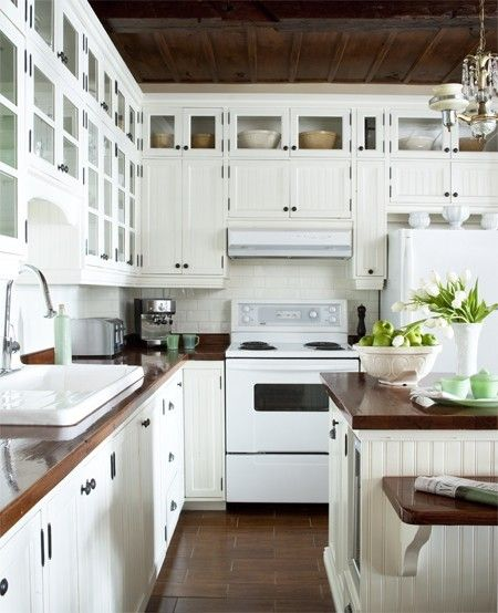 White Appliances vs. Stainless Steel | White kitchen appliances .