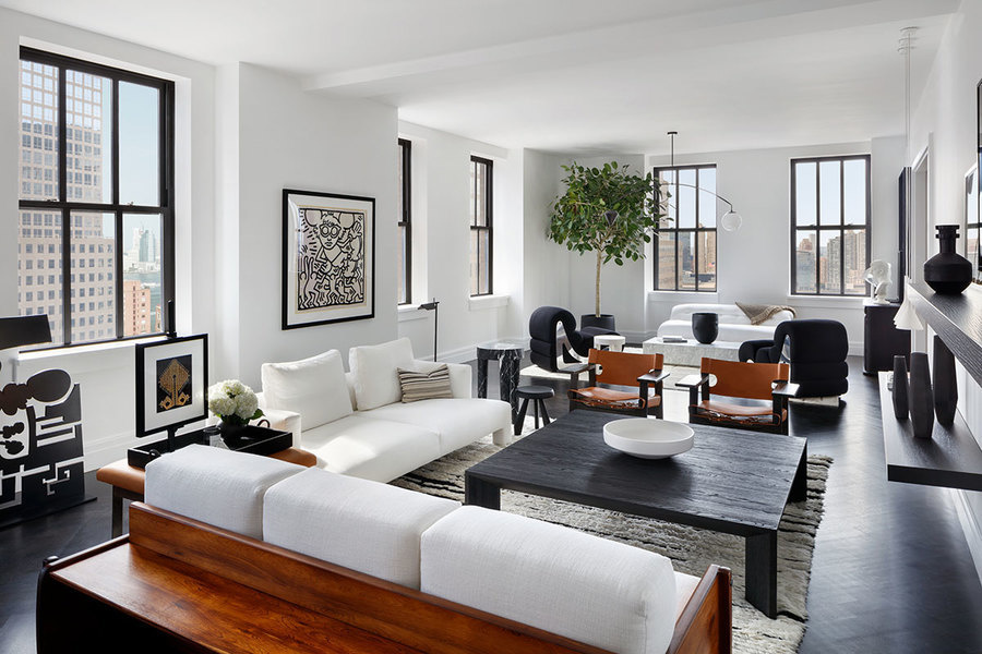How to Accessorize an All-White Living Room - Mansion Glob