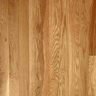 """2 1/4"""" x 3/4"""" White Oak Choice Natural Prefinished Solid Wood ."""