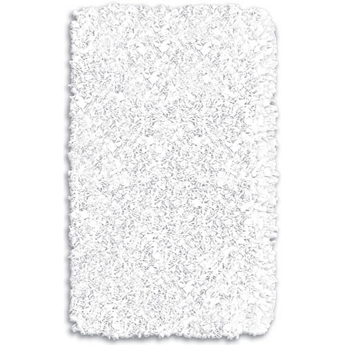 Shaggy Raggy White Rug and Nursery Necessities in Interior Design .