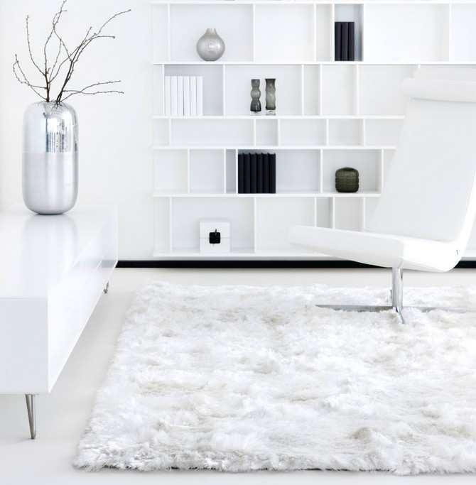 Tips on when you should use white contemporary ru