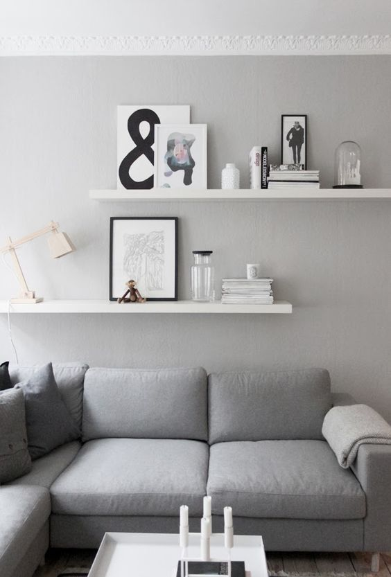 28 Awesome Shelf Decorating Ideas For Your Living Room   Floating .