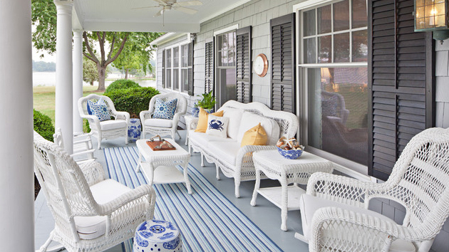 Get the Classic Charm of 15 White Wicker Furniture | Home Design Lov