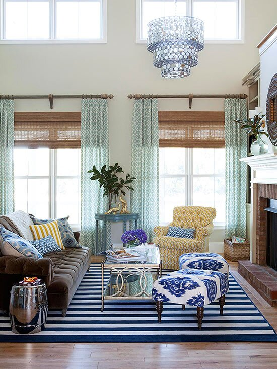 Window Treatments For Living Rooms   MyCoffeepot.O