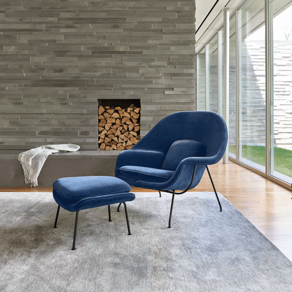 Womb Chair and Ottoman by Knoll | Lekker Ho