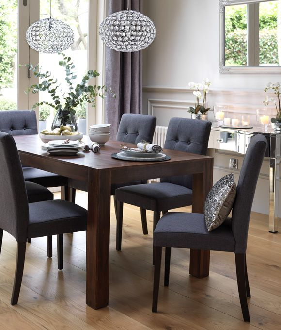 Wood Dining Table Decor
