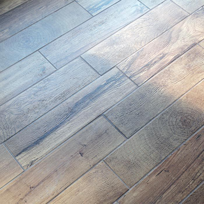 How to Install Wood-Look Floor Ti