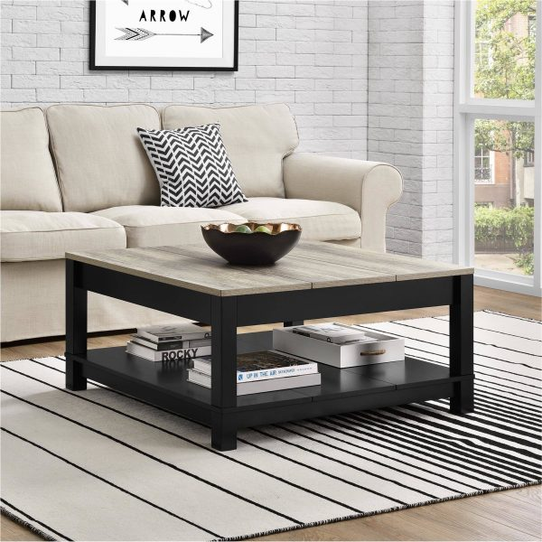 51 Square Coffee Tables That Every Beautiful Home Nee