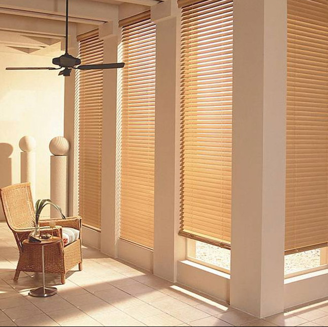 Venetian Classical Wooden Curtain For Home - Buy Louver Blind .