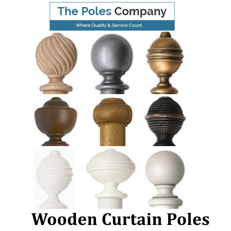 Choosing the right range of wooden curtain poles for your living .