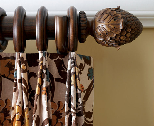 Decorative Wood Drapery Hardware | See Our Selecti