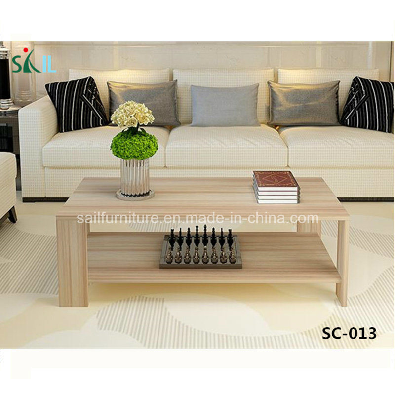 China Living Room Furniture Simple Design Wooden Coffee Table .