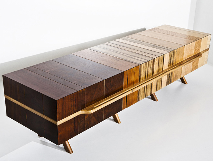 Chissick Design Turns Salvaged Wood Scraps Into Beautiful Fused .