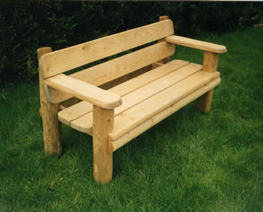 Home Furniture Decoration: Benches In The Gard