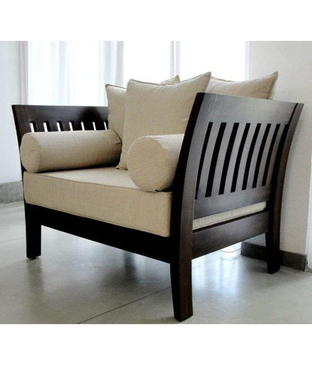 wooden sofa set - Google Search | Wooden sofa set, Wooden sofa set .