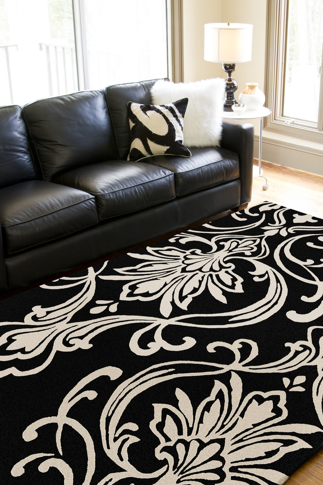 Top 10 Black & White Rug Ideas to Demand The Attention of a Room .
