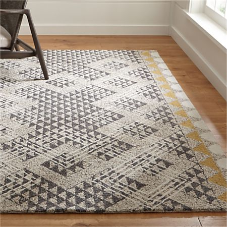 Thea Hand Hooked Wool Rug | Crate and Barr