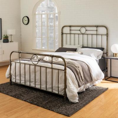 Wrought Iron - Beds - Bedroom Furniture - The Home Dep
