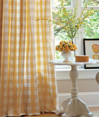My bedroom, while I was in high school, was bright yellow & white .